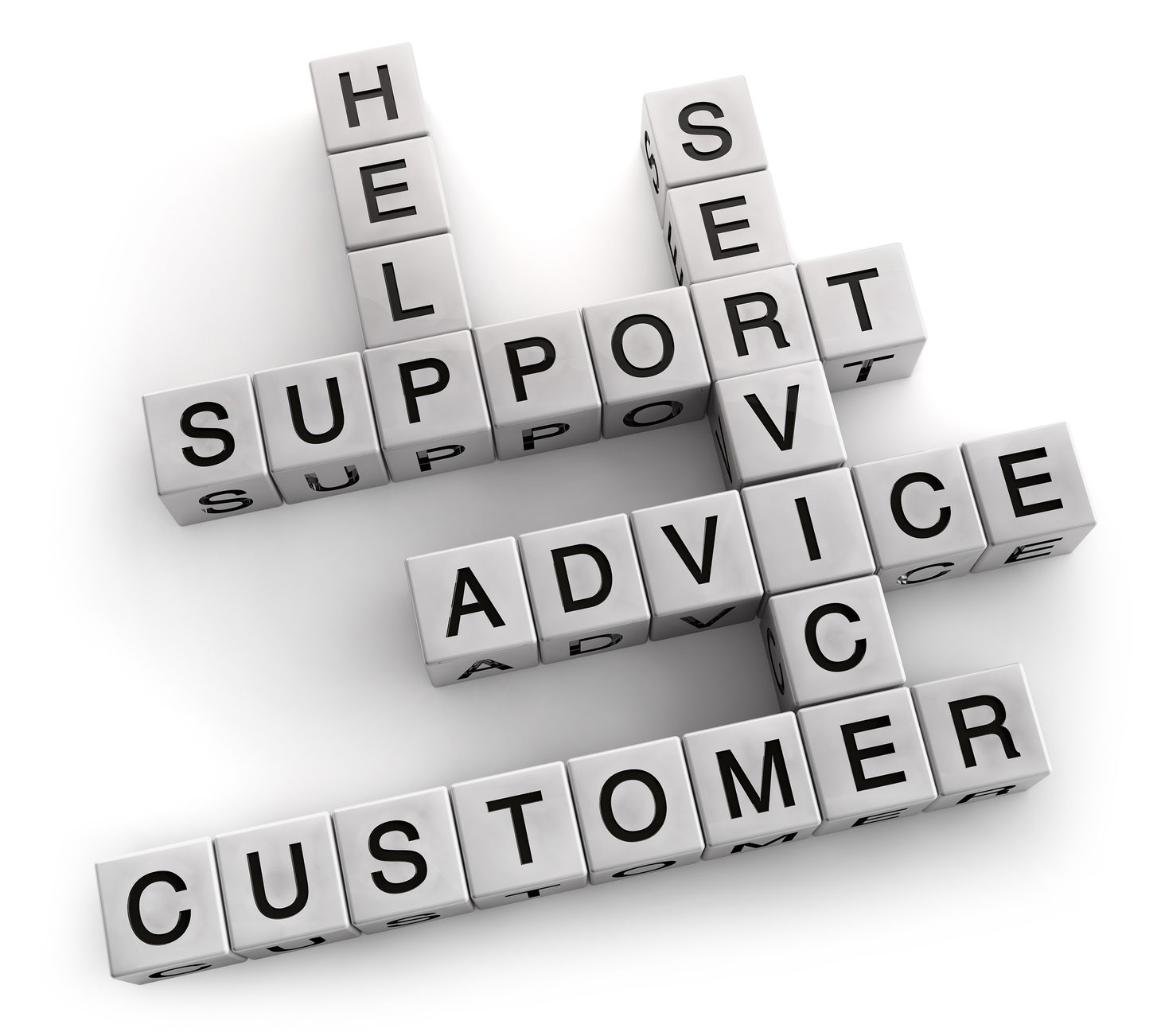 Stations quote: Client, Advice, Service, Help